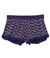 Roxy Kids Girls' Chevron Ruffle Short (8yrs-16yrs)