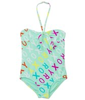 Roxy Kids Girls' Surfs Up Logo One Piece (2T-7yrs)