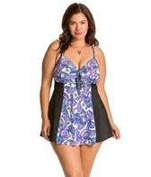 Fit4U Plus Size Dolce Swim Dress