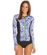 Fit4U Dolce L/S Rashguard With Built In Bra