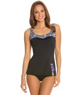 Fit4U Dimensions Retro Sheeth One Piece Swimsuit