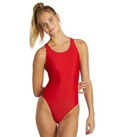 Clubswim Essential Solid Wide Strap Swimsuit