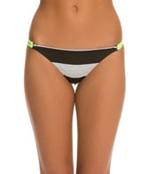 Hurley Tomboy Stripe String Side Bikini Bottom