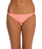 Hurley Webbed String Side Bikini Bottom