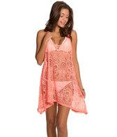 Hurley Webbed Cover Up Dress