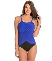 Magicsuit by Miraclesuit Colorblock Solid Lisa One Piece