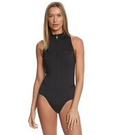 Magicsuit by Miraclesuit Scuba Coco Zip Up One Piece Swimsuit