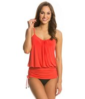 Magicsuit by Miraclesuit Solid Shelly Underwire Tankini Top