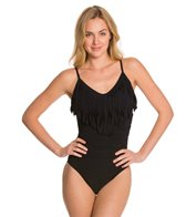Magicsuit by Miraclesuit Solid Fringe Blaire One Piece Swimsuit