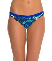 Blue Seventy Women's Paisley Lotus Performance Bikini Swimsuit Bottom