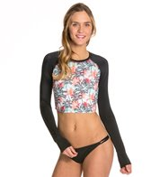 Reef Girls Palm Crop L/S Rashguard