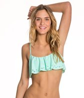 Reef Girls Solid Crop Top