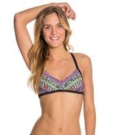 Bikini Lab Don't Worry Be Strappy Bralette Top