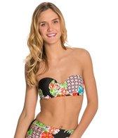Bikini Lab Hot & Cold Underwire Bandeau Bikini Top