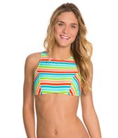 Bikini Lab Rainbow Perfection High Neck Bikini Top