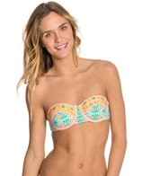 Bikini Lab Someday My Prints Will Come Underwire Bandeau Bikini Top