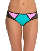 Bikini Lab Sporty Splice Hipster Bikini Bottom