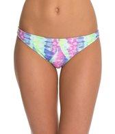 Bikini Lab Live and Let Tie Dye Skimpy Hipster Bikini Bottom