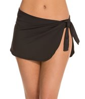Tommy Bahama Pearl Solids Sarong Swim Skirt