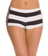 Tommy Bahama Swimwear Rugby Stripe Hot Short Bikini Bottom