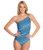 Coco Reef Wonderland Geo CDDD One Shoulder One Piece Swimsuit