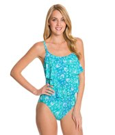 Coco Reef Sahara Ruffle CDDD One Piece Swimsuit
