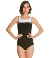 Active Spirit Sport Support High Neck Swimsuit