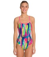 Funkita Feline Fever Single Strap One Piece Swimsuit