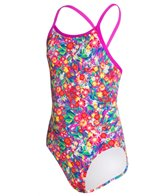Funkita Girl's Olympus Princess Diamond Back One Piece Swimsuit (8-14)