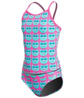 Funkita Girl's Parliament Party Tankini and Brief Swimsuit Set (8-14)