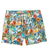 Funky Trunks Postcard Paradise Watershort