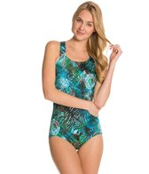 T.H.E Trinidad Swimmers Back One Piece Swimsuit