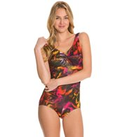 T.H.E Curacao Twist Bra Mio One Piece Swimsuit