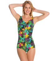 T.H.E Anguilla Twist Bra Mio One Piece Swimsuit
