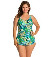 T.H.E. Plus Martinique Classic Sarong Swimdress