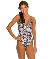 B.Swim Bella Noir The Boss Macrame One Piece Swimsuit