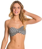 Body Glove Swimwear Vielha Molded Cup Twist Bandeau Bikini Top