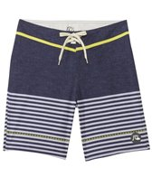 Quiksilver Men's East Side Stripe Board Boardshort Shorts
