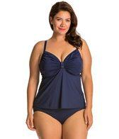 Coco Reef Plus Stone Beauty C/D/DD Twist Tankini Top
