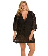 Dotti Plus Size All Deco'd Out Kimono Dress