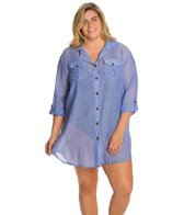 dotti-plus-size-summer-camp-button-up-shirt-dress