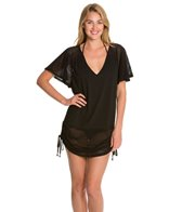 Dotti Hole In One Shirred Cover Up Tunic