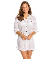 Dotti Summer Camp Button Up Shirt Dress