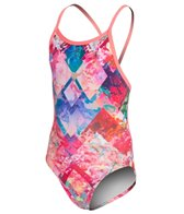 Amanzi Peach Passion Youth Proback One Piece Swimsuit
