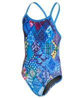Amanzi Posy Patch Youth Proback One Piece Swimsuit