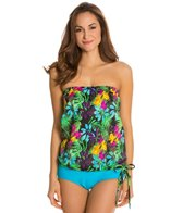 Bikini Topanga Anguilla Bandeau Blouson Bikini Top