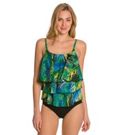 Topanga St. Lucia Mastectomy Triple Tier Tankini Top
