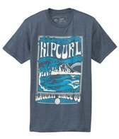 Rip Curl Men's Diamond Head Heather Short Sleeve Tee