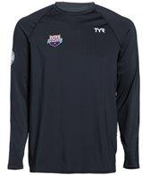 TYR USA Swimming Men's Long Sleeve Swim Shirt