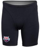TYR USA Swimming All Elements Men's Compression Short
